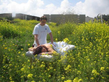 טיפול בשדה חרדל